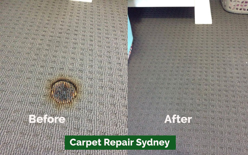 Carpet Repair The Entrance
