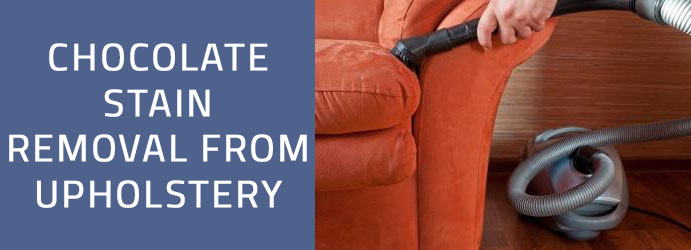 Chocolate Stain Removal from Upholstery