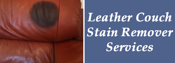 Leather Couch Stain Remover Services